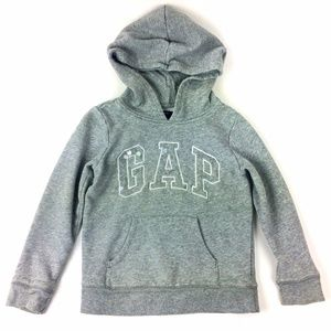 GapKids Factory Clear Sequin Embellished Hoodie